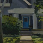 Grey House, Blue Door