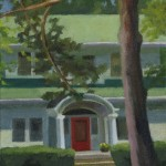 Red Door, Pine Foreground