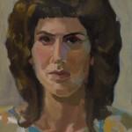 Self-portrait Flowered