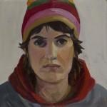 Self-portrait Striped