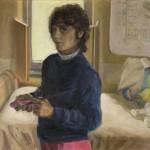 Self-portrait in Daughter's Room